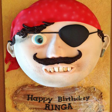 pirate face