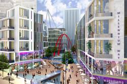 Millennium Way Masterplan, Cardiff