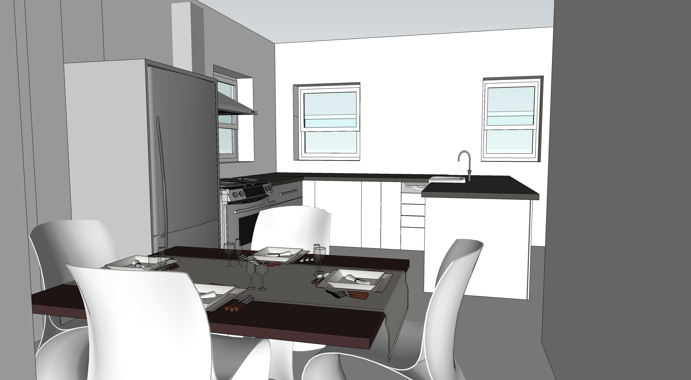 Proposed 3D Interior