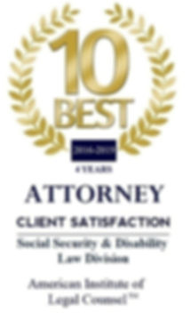 BEST Social Security Lawyer, best disability attorney, best disability lawyer, best social security attorney
