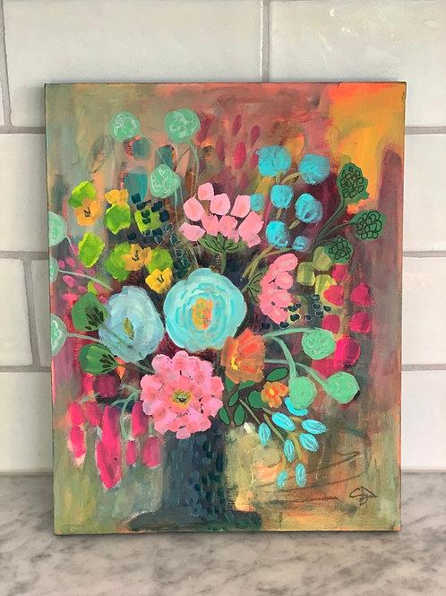 Sunset Blooms - Original