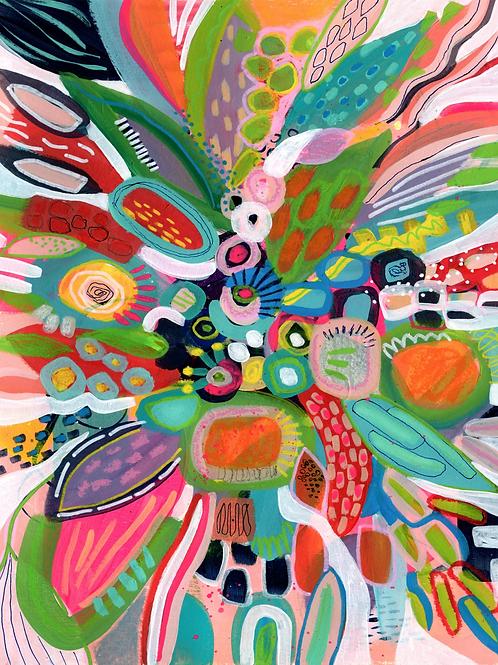 Margarita Punch - Vertical Giclée Print