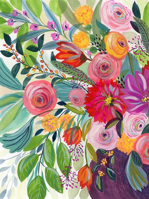 Hope Blooms - Flower Print