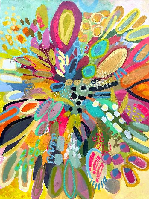 Celebrate!- 11 x 14 on paper