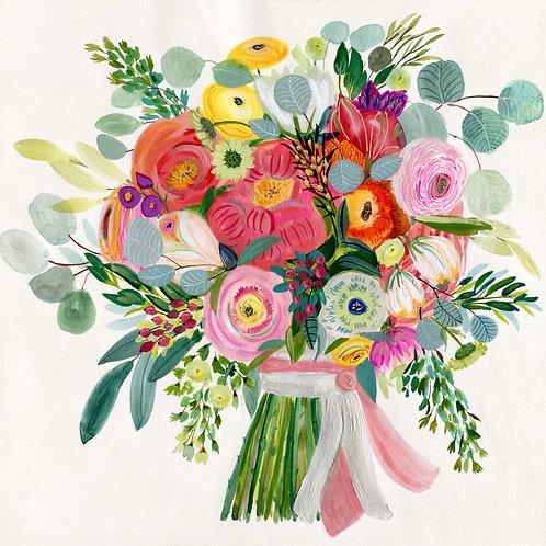 Constant Friend Bouquet Print