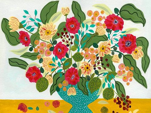 Fiesta -  Festive Flower Print