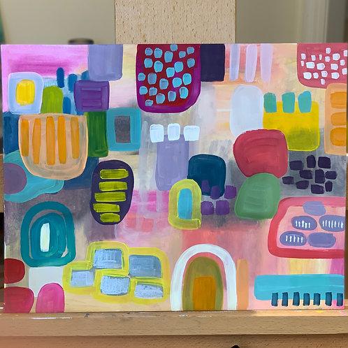 Pueblo - Original, 11 x 15 on paper