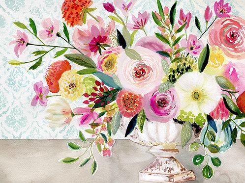 Dance of Flowers - Horizontal Giclée Print