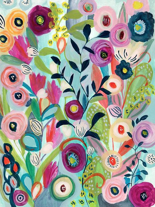 Spring Garden - Flower Garden Print