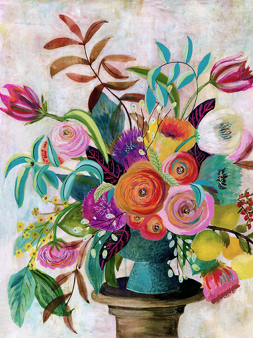 Charleston Glory - Flower Painting Print