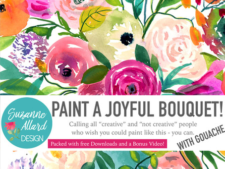 Come paint with me - online and... free?!