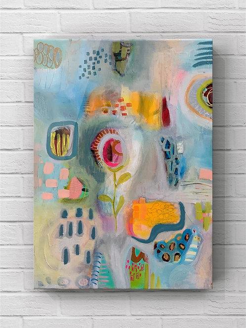 """Softly She Said"" Original - 16x20 on Canvas"