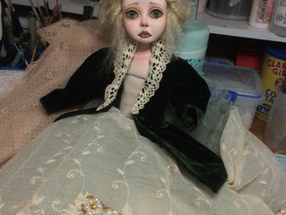 """""""Ella"""" - My Newest Doll In Progress  - and Blog Practice"""