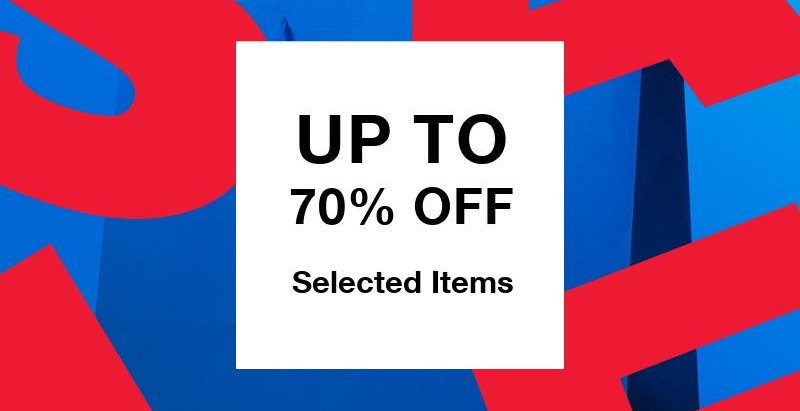 SOOTYS AUGUST UP TO 70% OFF SALE!