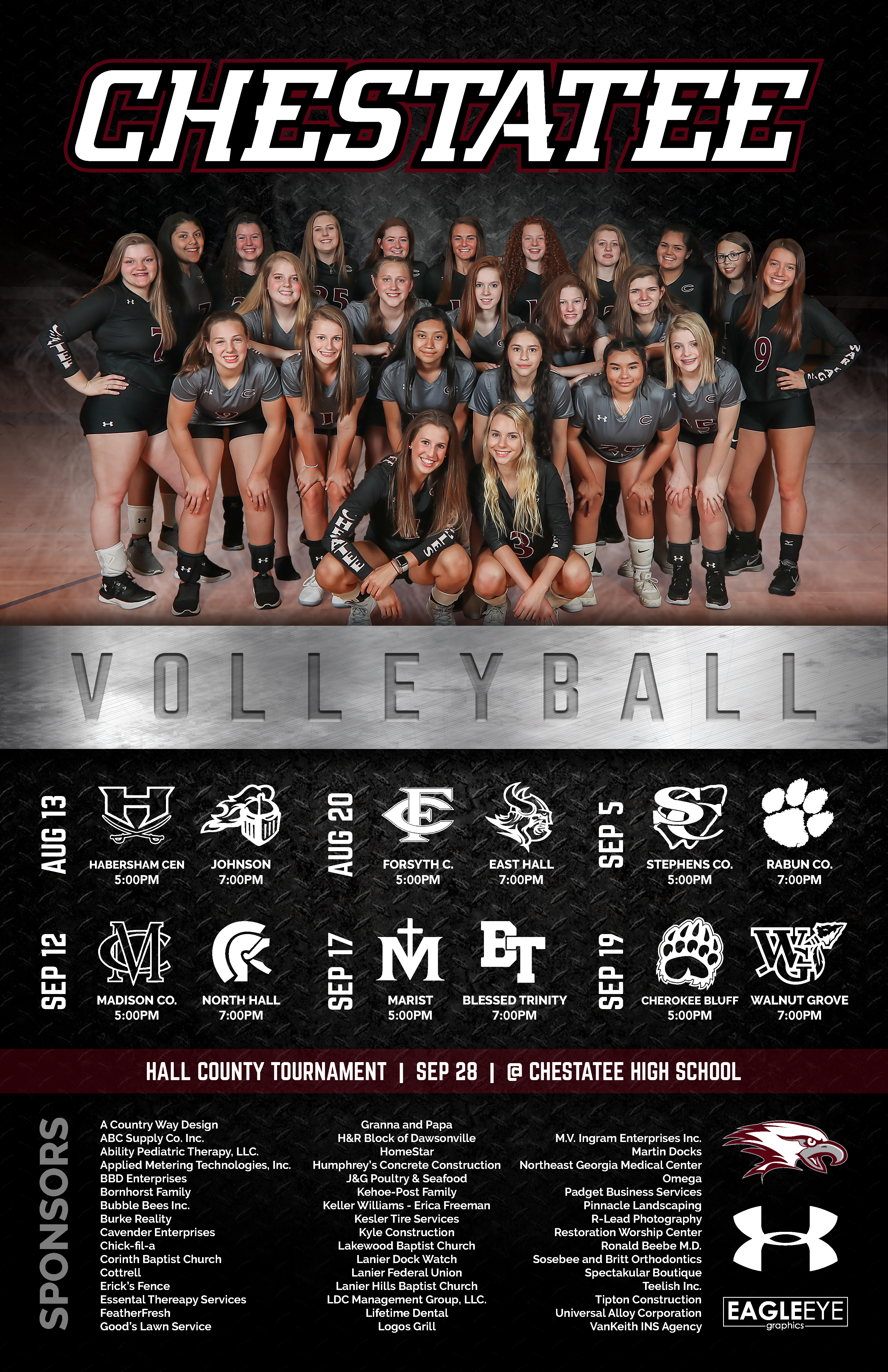 Volleyball mock2Poster-02