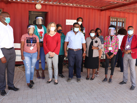 USAID Deputy Chief of Mission visit Gobabis