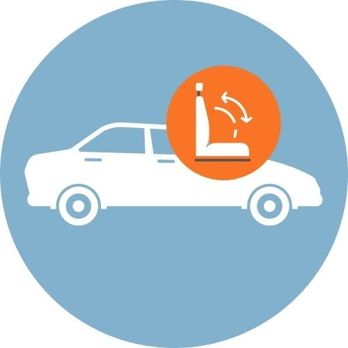 Cloth Seat Cleaning - Sedan