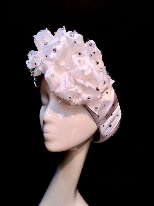 Crownless Rhinestone Floral Headband