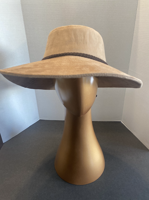 The Kellie Suede Brim: SALE Item