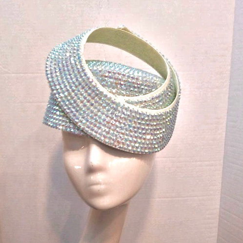 Iridescent Bejeweled Pillbox