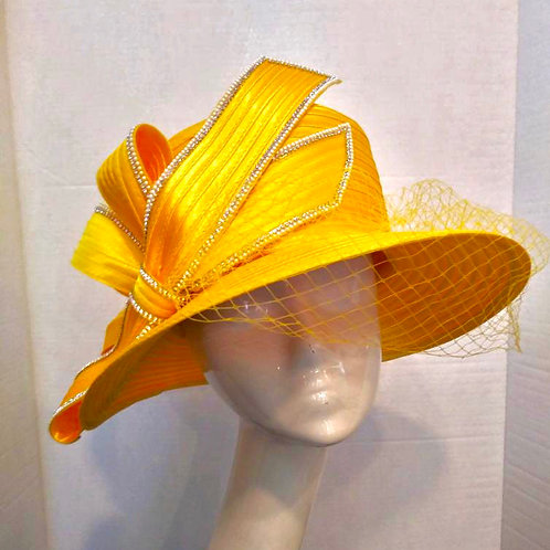 Sunshine Yellow Year Round Wide Brim