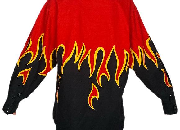 Novelty Flame Shirt