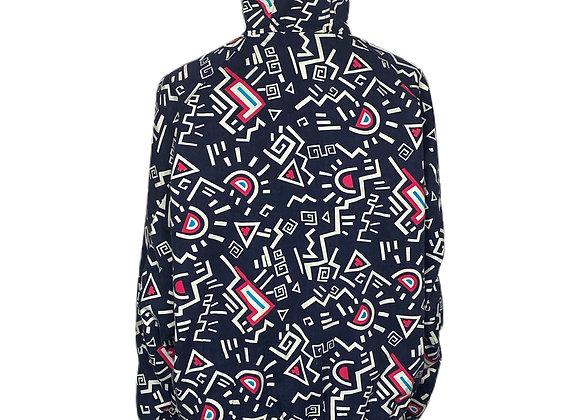 Kieth Haring Lookalike Abstract Print Jacket.