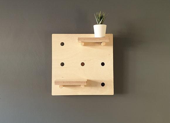 Small Square Peg Board