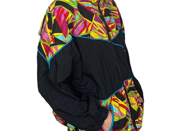 80s/90s Activology lightweight winder breaker jacket.