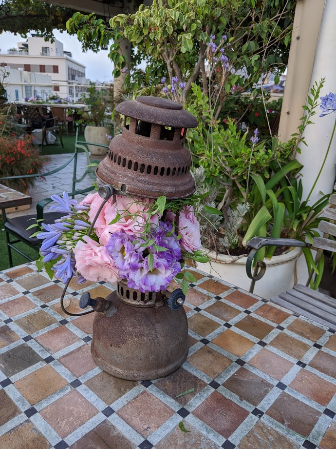 23. old lantern dressed