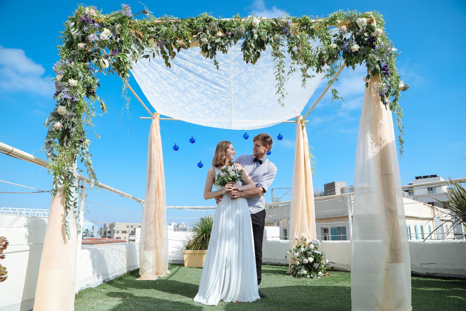 11. bride _ groom under chupa