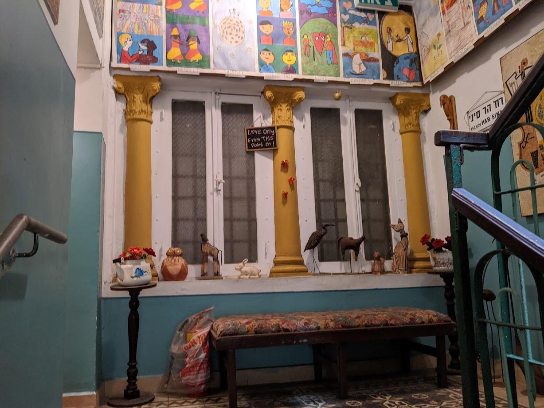 4. stairwell decor