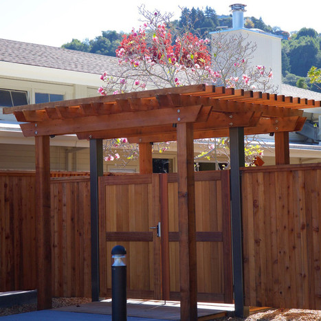 New Outside Entrance to Patio