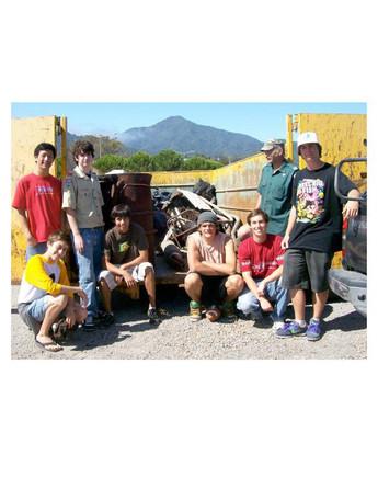- Corte Madera Coastal Cleanup Volunteer