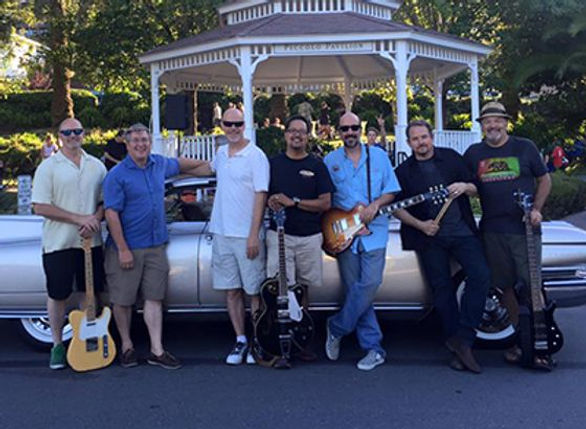 Corte Madera Summer Concerts - Bubba's Taxi