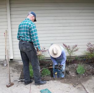 53 Bob Bundy works on the valves for the