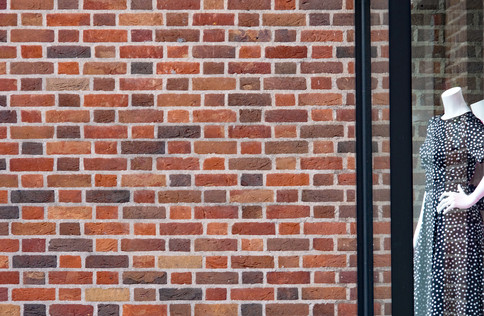 the immaculate brick wall