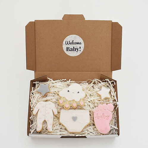 Welcome baby box set