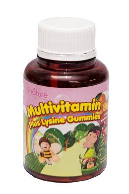MultiVitamin plus Lysine Gummies