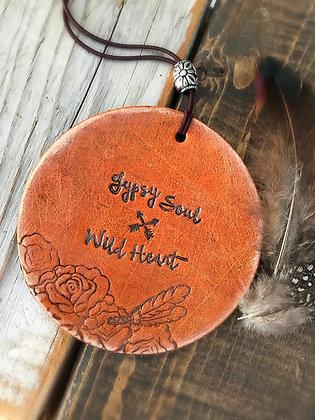 'Gypsy Soul, Wild Heart' Car Charm