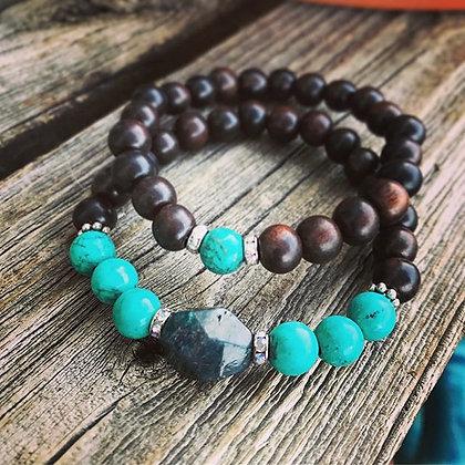 'Achieve' Stretch Bracelet set