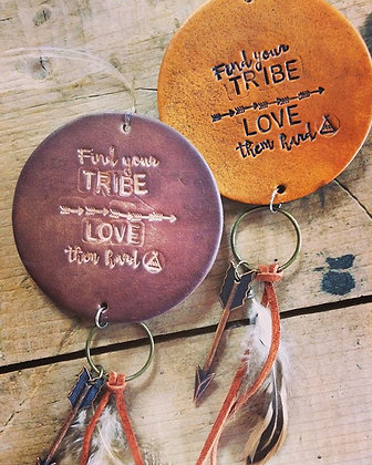 """""""Love Your Tribe' Car Charm"""