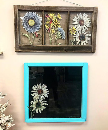 Wildflower Window Workshop- Jan 18th 3-5:30