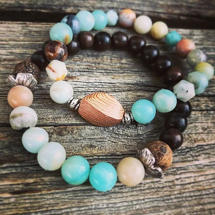 'Earth to Sky' Stretch Bracelet set