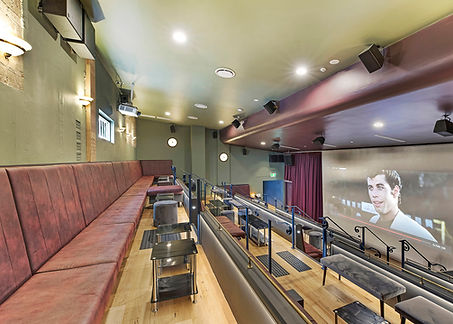 movie area for functions and events