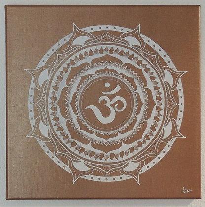 - Mandala Chakra Couronne - 40X40cm