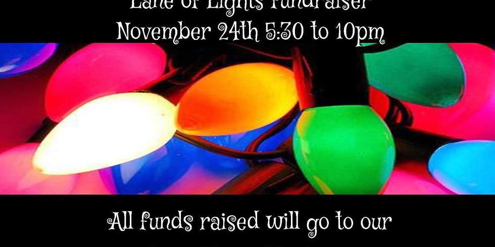 Lane of Lights Fundraiser