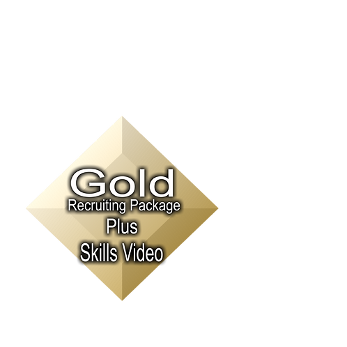 Gold Recruiting Package Plus Skills Video