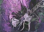 Jazz Guitarist at work
