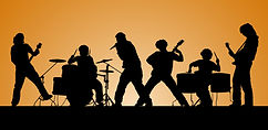 Rock Band in concert